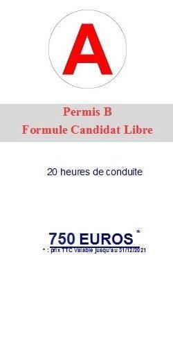 Formule candidat libre accueil